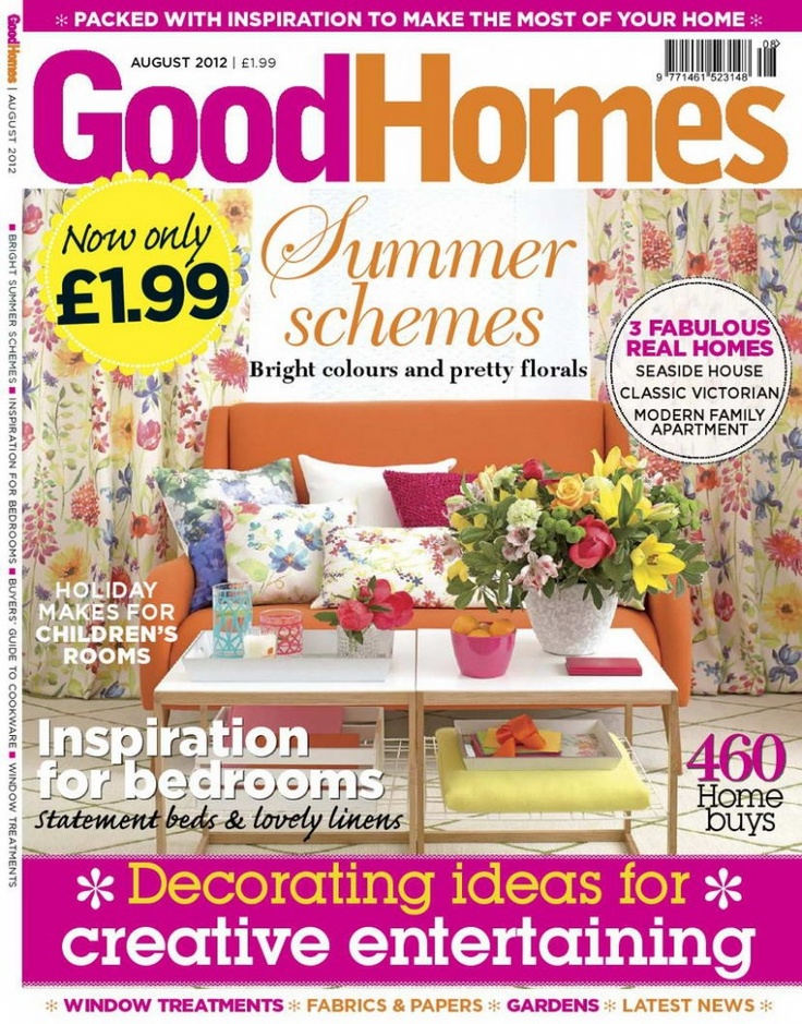 GoodHomes Magazine August 2012  English | 124 Pages |    In GoodHomes you'll find everything you need to keep up to date with new decorating trends and discover the latest products on the high street. You'll also get the best practical advice from leading experts to help you make the most of your home.: Practical Advice, Latest Products, High Street, Leading Experts, Goodhomes Magazine, August 2012, 2012 English
