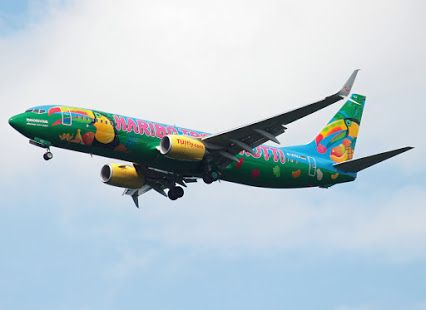Haribo Tropifrutti.Another great colourful livery by Tuifly!