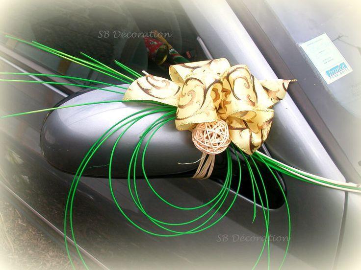 Décoration de voiture, wedding car decoration