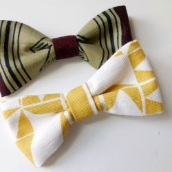 You can never have enough bows! Easy tutorial for adorable fabric bows with many pictures.