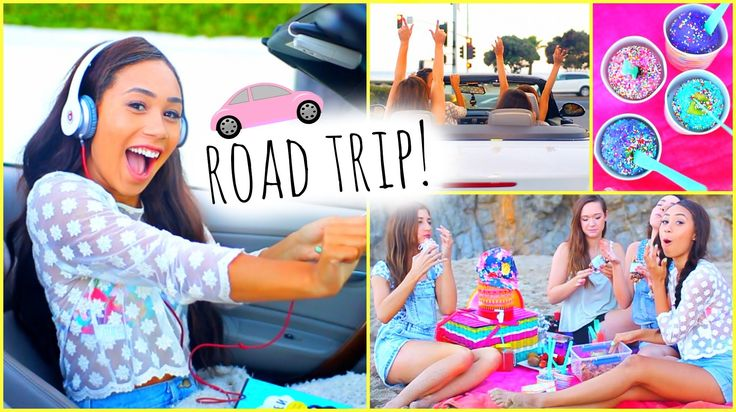 ☼ Summer Road Trip ☼ Essentials Outfits Food + Songs! watch evas vidoes and subscribe to her!