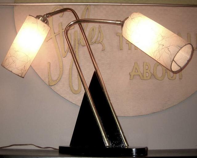 Unusual table lamp - Majestic lamps