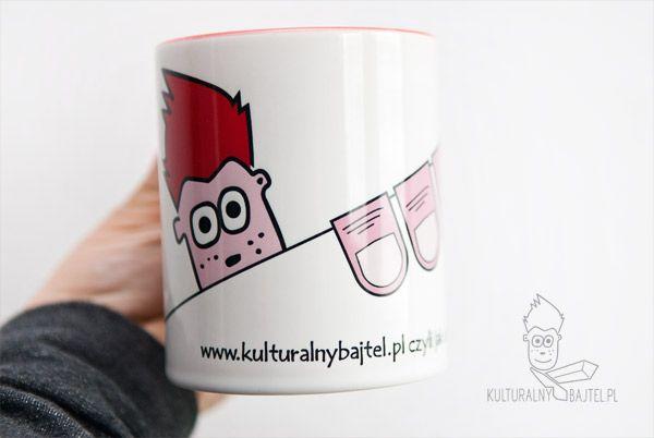 Kubek Kulturalnego Bajtla - więcej na www.kulturalnybajtel.pl