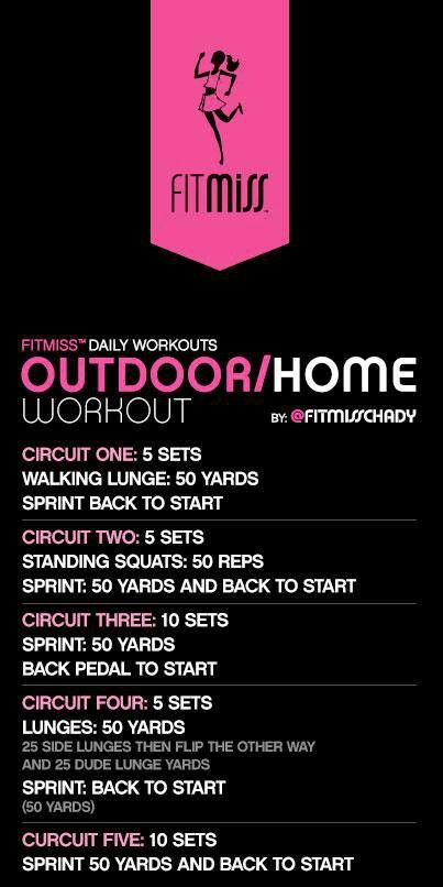 FitMiss circuit