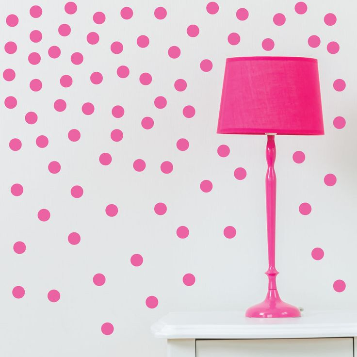 17 best ideas about gold dot wall on pinterest polka dot for Polka dot living room ideas