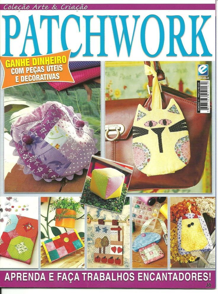 Fabric and Sewing Craft - Patchwork. Several small projects.