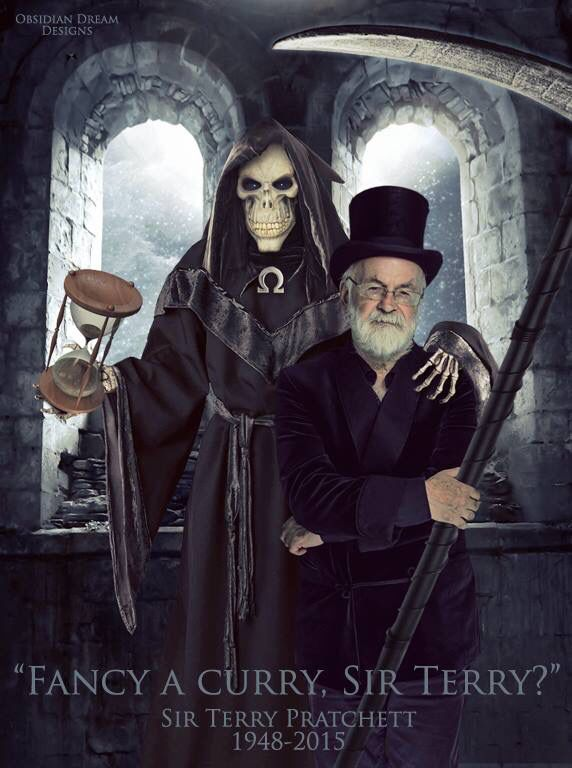RIP Terry Pratchett - you bought much joy to me through your books.