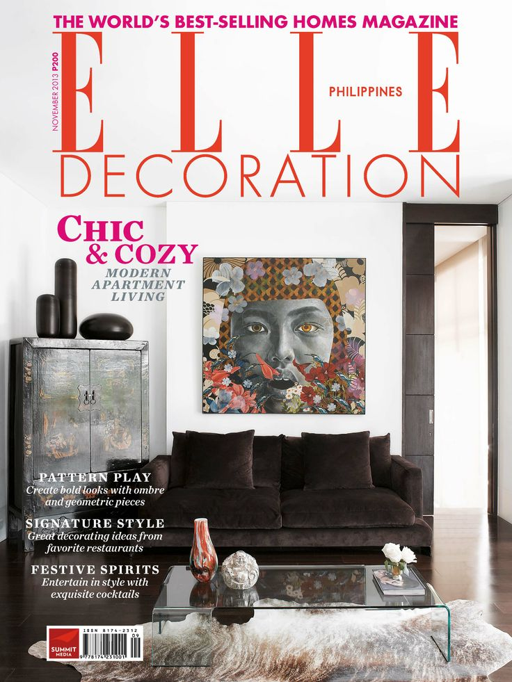 ELLE Decoration Philippines November 2013 Get Your Copy
