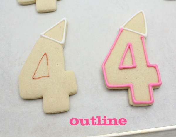 1000 Images About Birthday Numbers Letters Cookies And