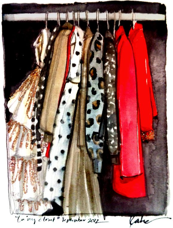 fall closet / paperfashion: Fall Closet, Dreams Closet, Paper Fashion, Art Prints, Fashion Art, Colors Palettes, Animal Prints, Water Colors, Fashion Illustrations