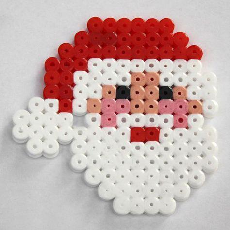 Pérolas pérola Papai Noel. – idéias de artesanato – # idéias de artesanato #Perle #Perlen #Weih …   – Top Kreative Hobby-Ideen
