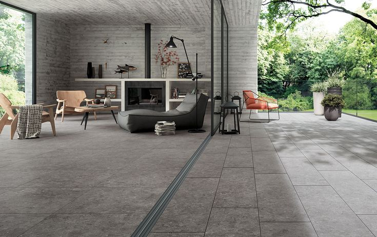 Mirage Evo Name Gris Belge | Stone Look 20mm Thick Porcelain Pavers | Available at Ceramo