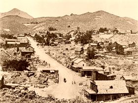 Silver City and Gold Hill - Mining the Comstock Lode