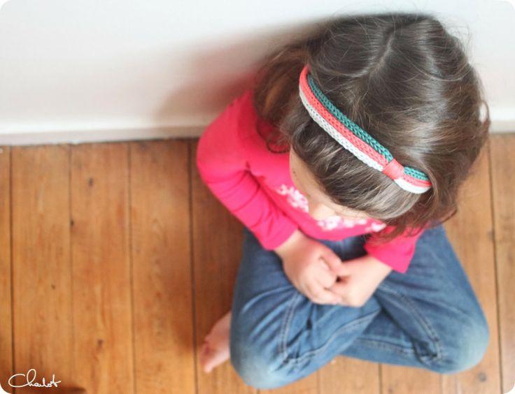 Bandeau Tricotin - Headband Tricotin - Et puis la neige elle est trop molle: Tricotin fever