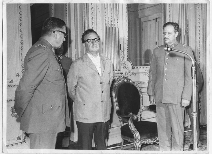 Allende con Pinochet