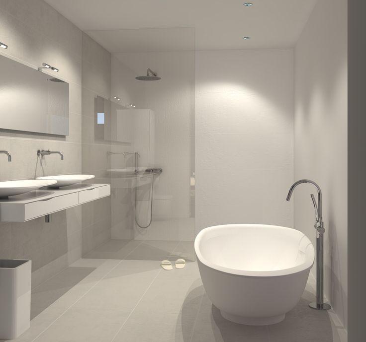 badkamer inspiratie modern - Google zoeken