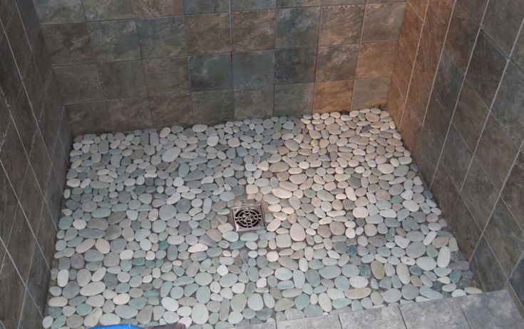 pebble tile floor bathroom pebble shower floor house pebble floor 19924 | 34cfdd03ad33d1bf8d6b6a4ed8c63726