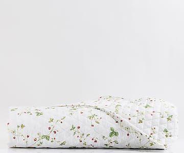 Copriletto matr. in percalle Strawberry rosso - 260x270 cm