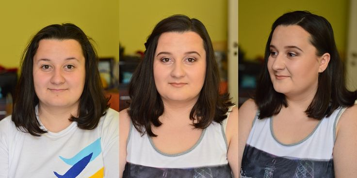 Natural makeup Before and after makeup #beforeandaftermakeup #naturalmakeup #change #makeup #contouring #highlighting #nudelips #browneyes #sleekcontour #sleekcosmetics #sleekmatteme