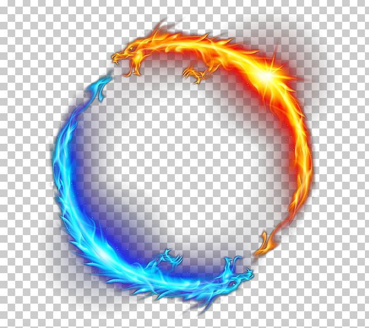 Red Fire Circle Png