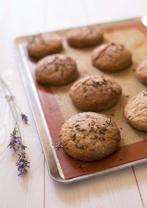 Recette Scones à la lavande - Lavander scones recipe