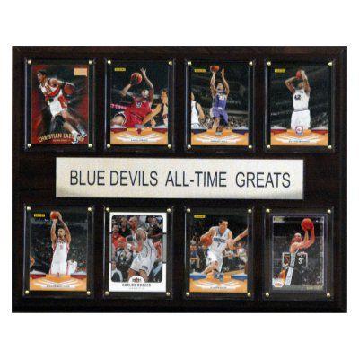 NCAA 12 x 15 in. Basketball Duke Blue Devils All-Time Greats Plaque - 1215ATGDUKE