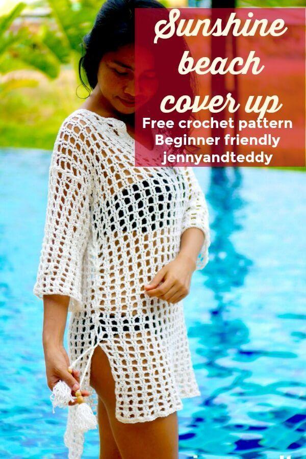 Panache Crochet Sun Beach Dress SW1165 Beachwear Cover Up