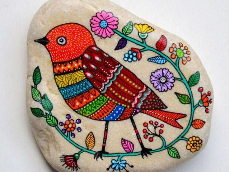Consejos prácticos para pintar piedras - Taringa!
