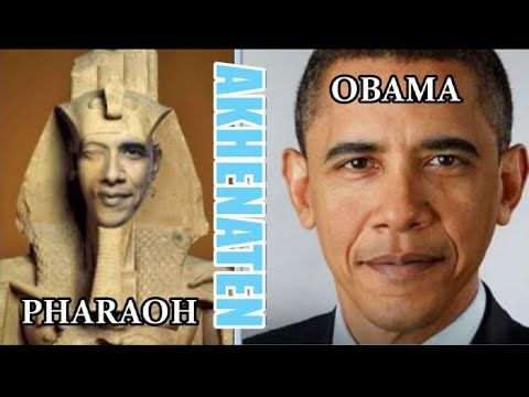 Shocking! Obama hints he is the clone of Pharaoh Akhenaten 666 (16 minutes)  (I accidentally clicked on this video, and almost stopped watching a minute in, but it got more interesting and includes info I had not seen before - discern for yourself)