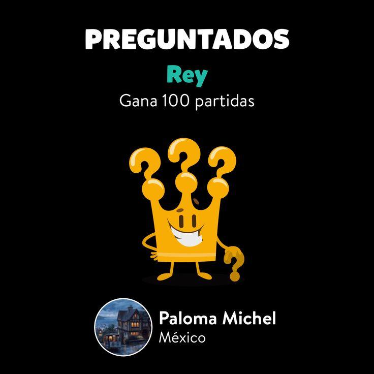 Paloma Michel ha conseguido el logro Rey en Preguntados