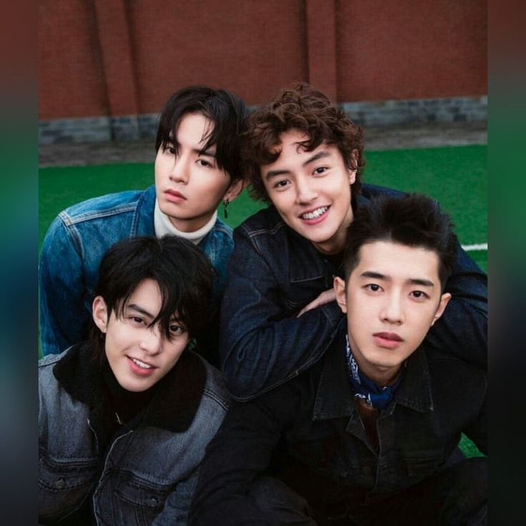 The Cast Of The Chinese Version Of U0027Meteor Gardenu0027. #MeteorGarden2018