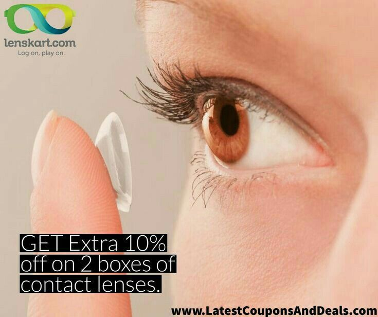 Get Extra 10 Off On 2 Boxes Of Contact Lenses Lenses Discount Codes Coupon Contact Lenses
