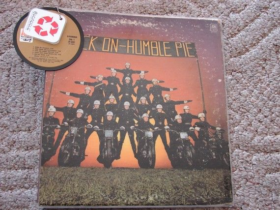 Humble Pie 3 Ring Binder With Album Center by rockcycleonline, $17.99
