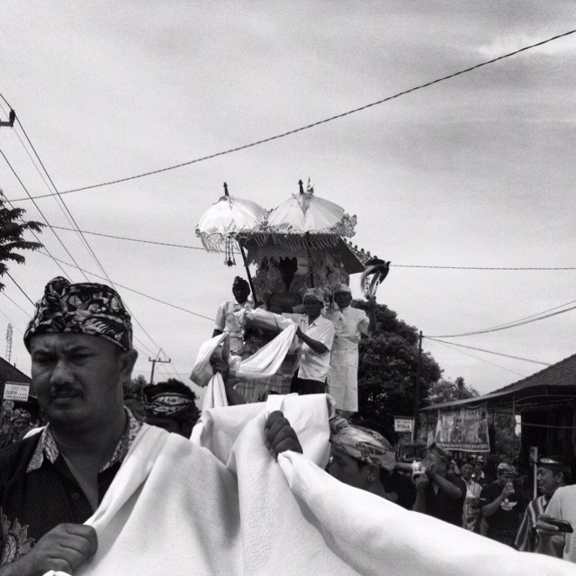 """white carpet - cremation series"" www.everyemotion.tumblr.com   Bali, Indonesia"