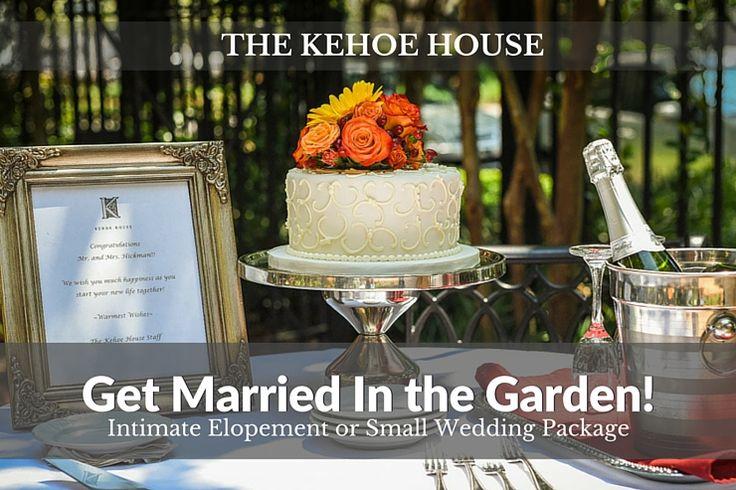 An Intimate Savannah Elopement Wedding Package