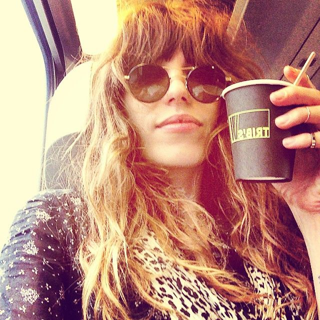 The French Girl's Answer to Bedhead: Lou Doillon and the Shocking Chic of Winter Frizz – Vogue