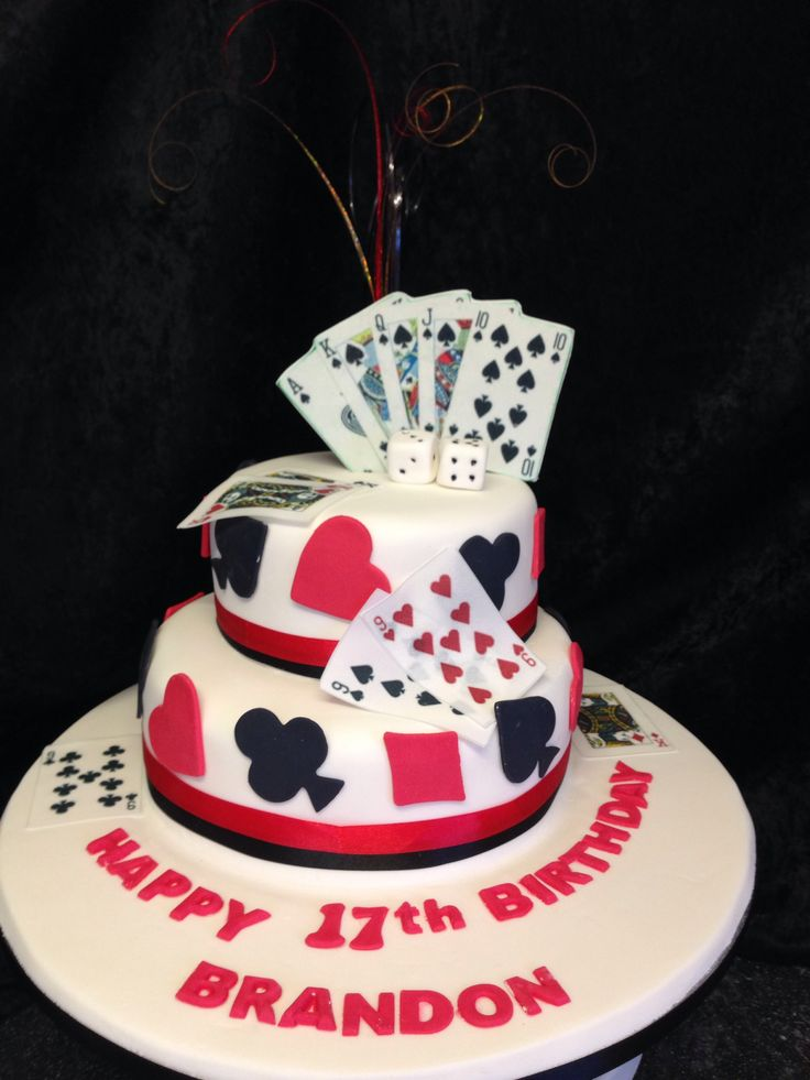 Birthday Cake Images Card : Playing card cake Cake & Cupcake Ideas Pinterest ...