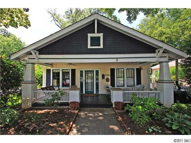 14 best charlotte bungalows images on pinterest for Craftsman homes in charlotte nc