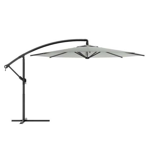 CorLiving Offset Patio Umbrella   Overstock™ Shopping   Big Discounts On  CorLiving Patio Umbrellas