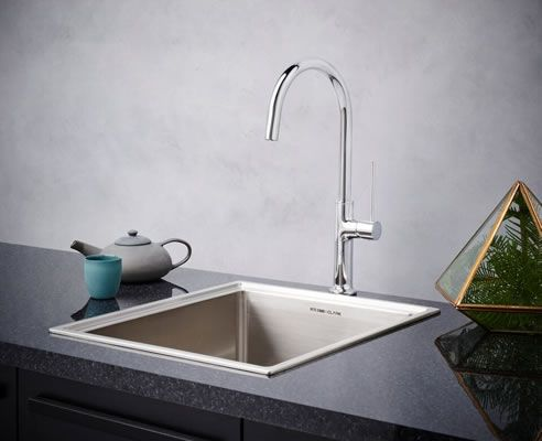 Stylish sink mixers