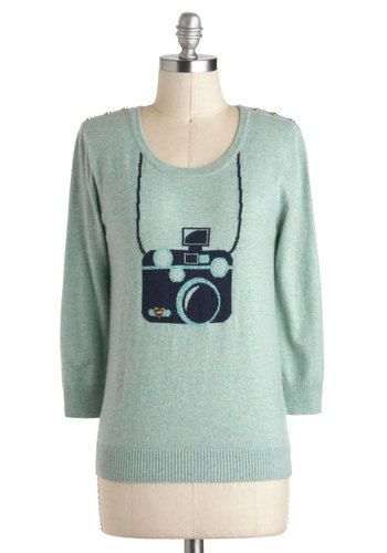 Picture This Sweater, #ModCloth