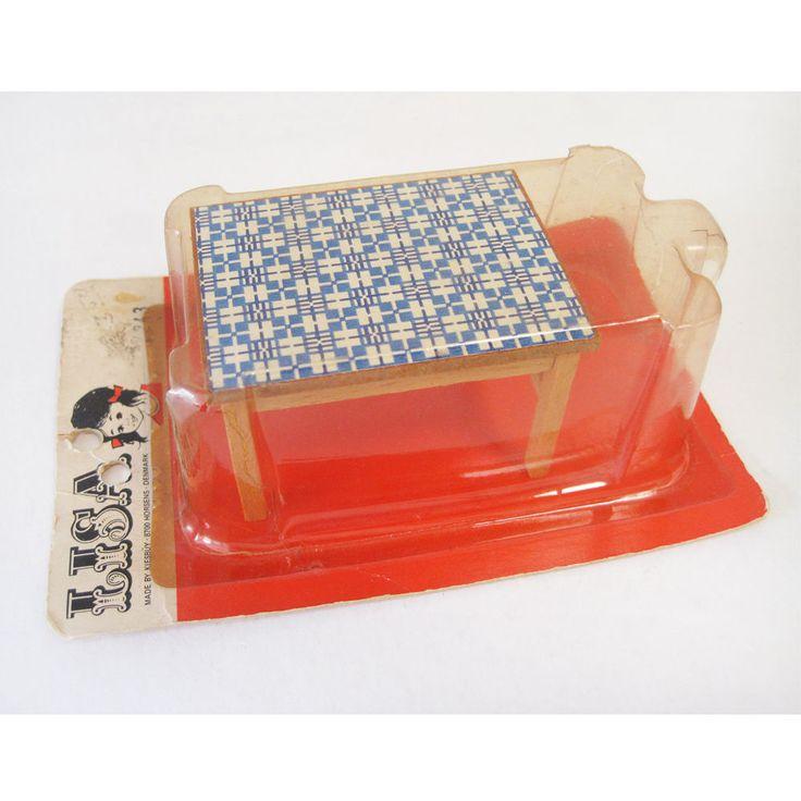 Vintage Lisa of Denmark Kitchen Table RARE Lundby Scale   eBay