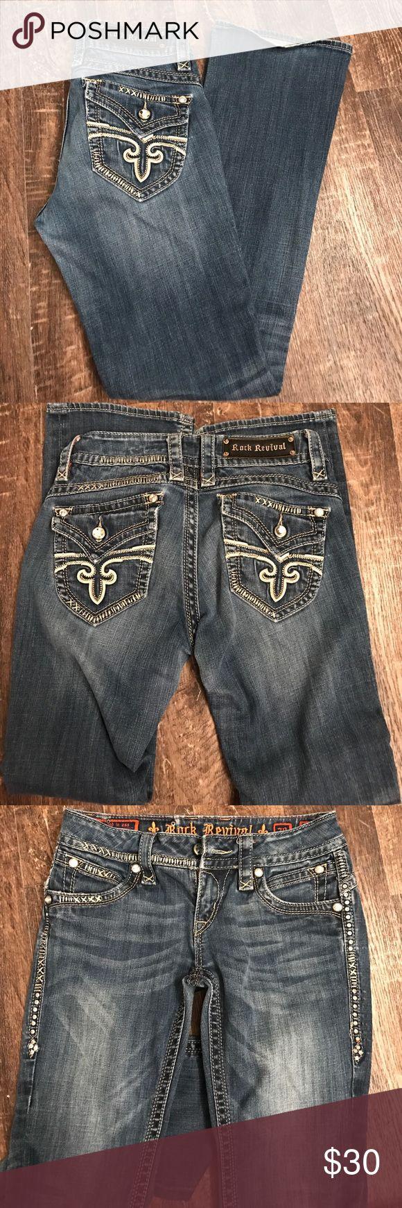 Rock Revival jeans Rock Revival jeans size 28 Rock Revival Jeans Boot Cut