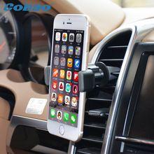 Универсальный автомобильный держатель мобильного телефона Cobao air vent держатель авто гора стенд держатель для iPhone 4 4s 5 5s 6 6 s Samsung аксессуары //Цена: $3.49 руб. & Бесплатная доставка //  #electronic #device