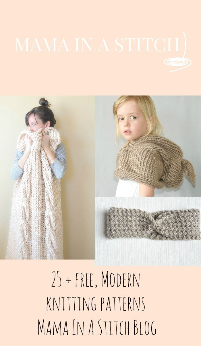 Modern Argyle Hat Knitting Pattern For Newborns Babies And Toddlers