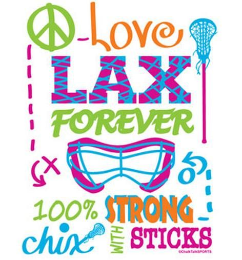 This is girls lacrosse. Fun, colorful, strong, and forever!