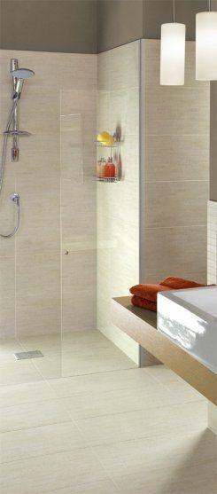 Happy Floors - Bambu Avorio floor tile for bathroom