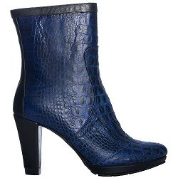 Colette Sol Blue Snake heel More info available on our website www.colettesol.com