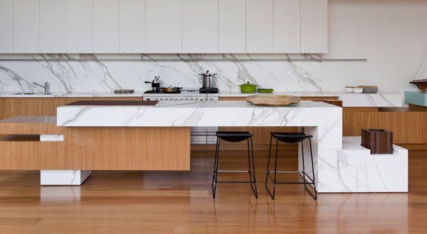 Unique look for the kitchen - Calcatta