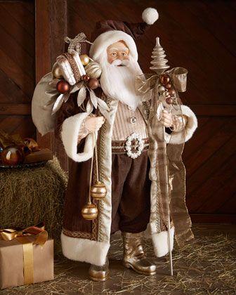 """Haute Chocolate 36"""" Santa at Neiman Marcus."""
